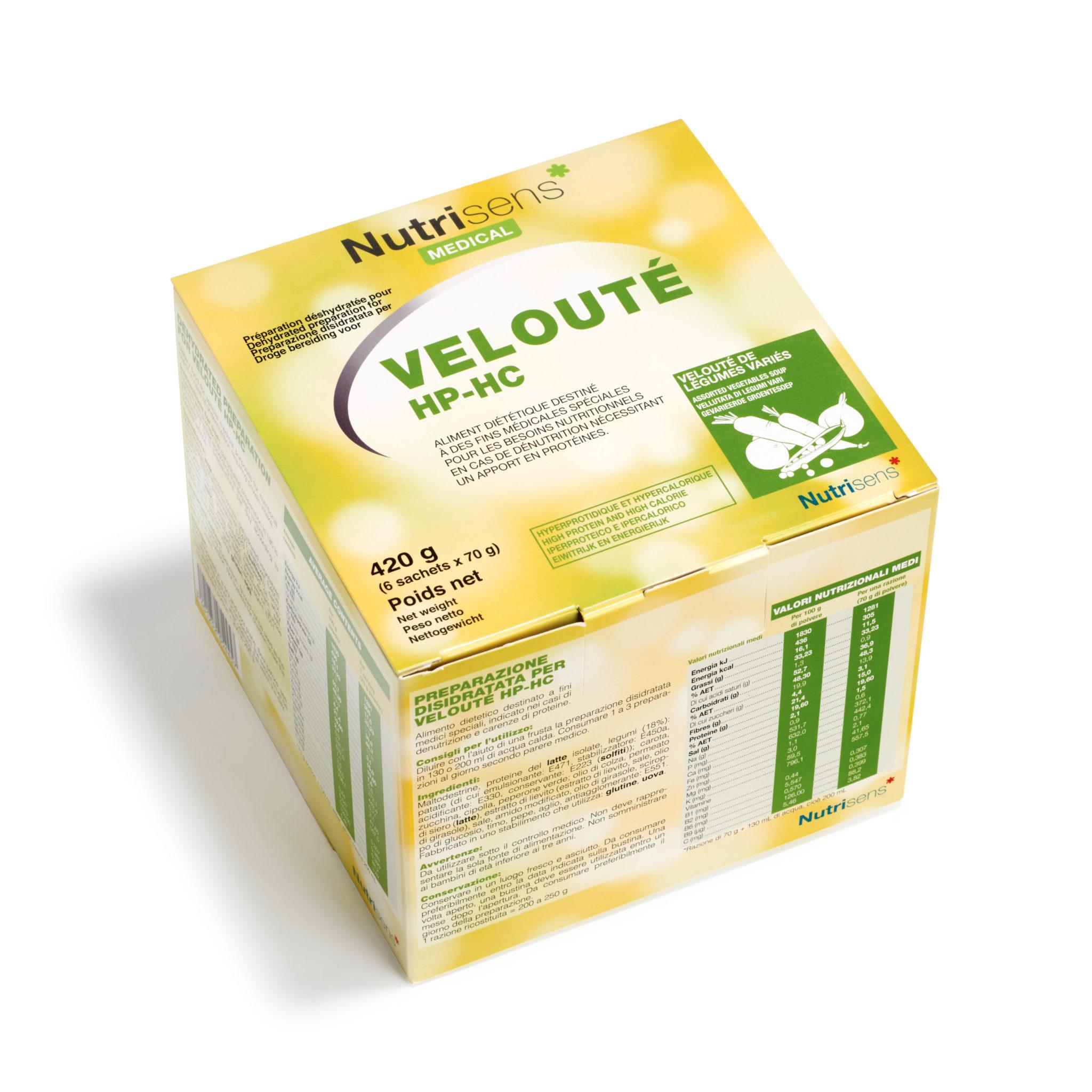 Veloute legumes varies